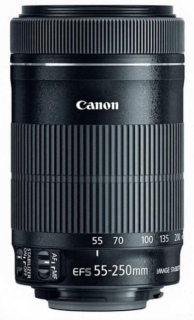 Canon Lens EF-S 55-250mm f/4-5.6 STM