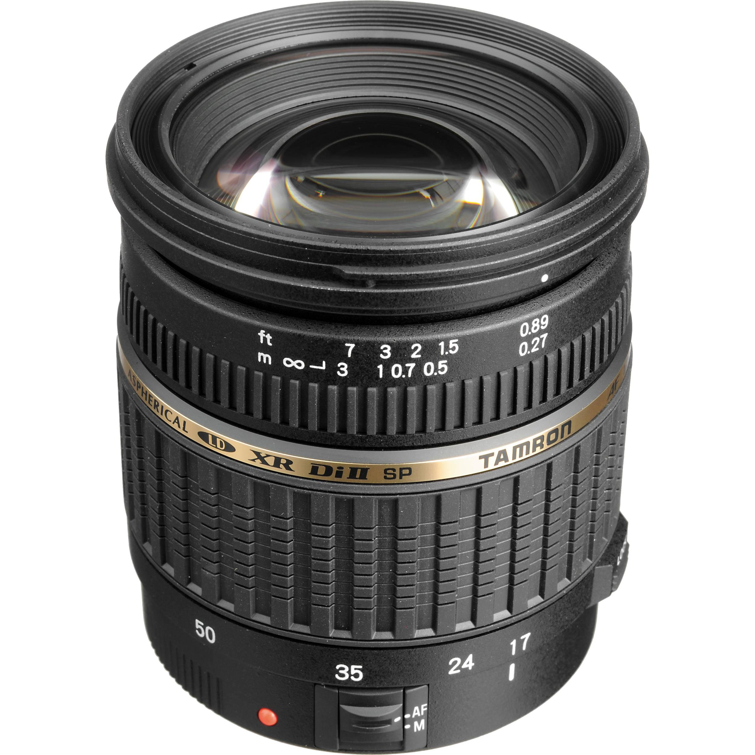 Tam ron 17-50mm f/2.8 XR LD Aspherical (IF) for Canon/Nikon