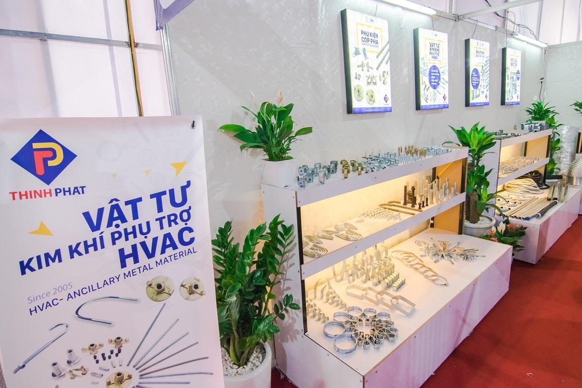 Gian trưng bày của Thịnh Phát tại hội trợ