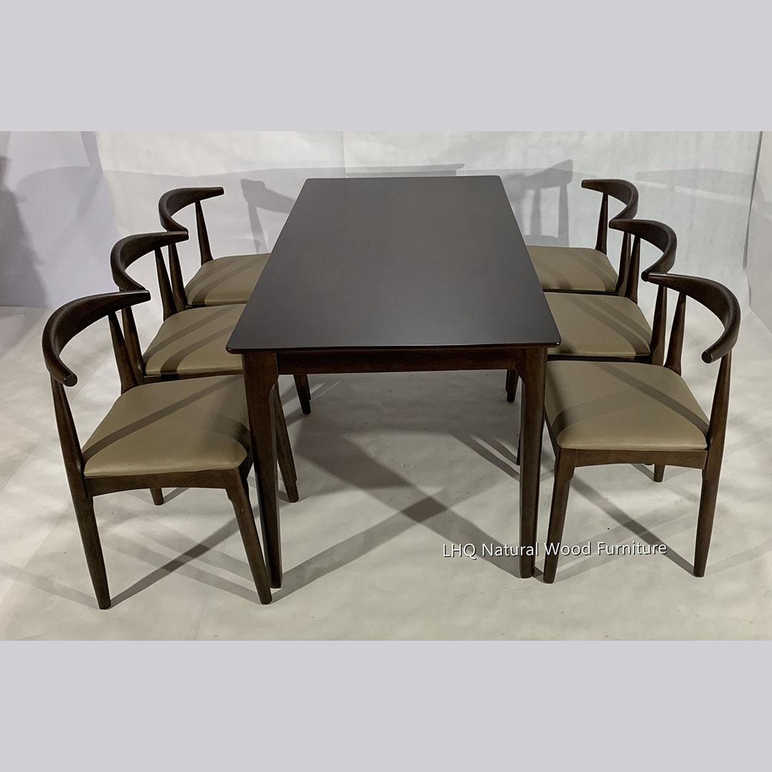 bộ bàn ghế ăn elbow