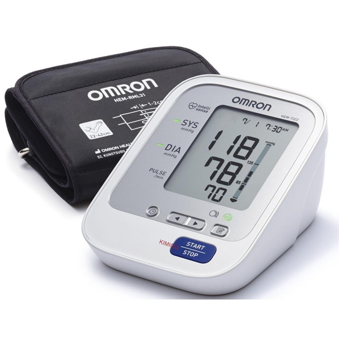 Máy đo huyết áp HEM-7322 - siêu cao cấp