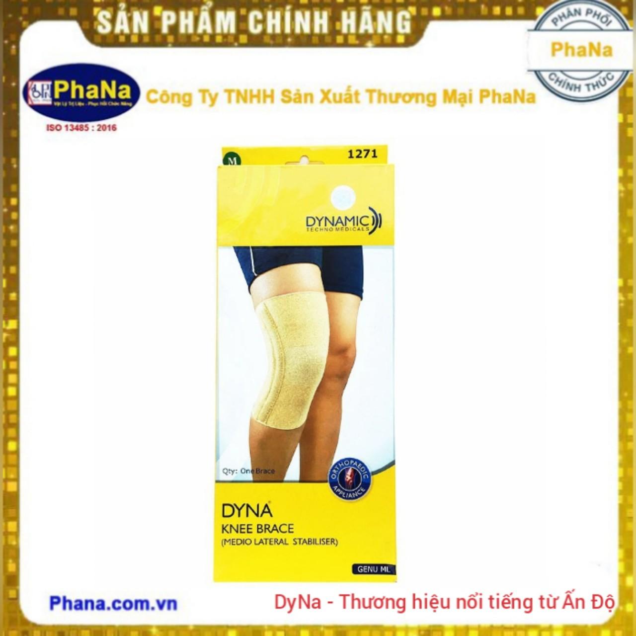Đai hỗ trợ đầu gối Dyna Genu ML - 1271 (Hàng nhập Ấn Độ)