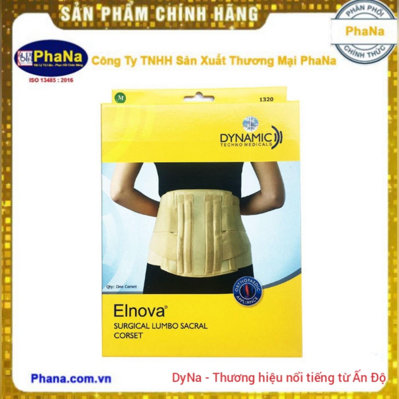 Đai thoát vị đĩa đệm Elnova 1320 -Màu kem