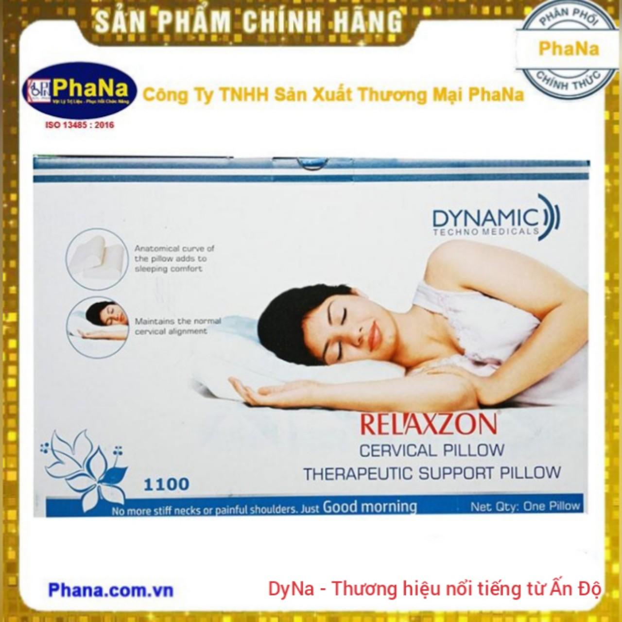 Gối Y Khoa Relaxzon (Hàng nhập Ấn Độ) - Gối hỗ trợ vùng xương cổ RELAXZON