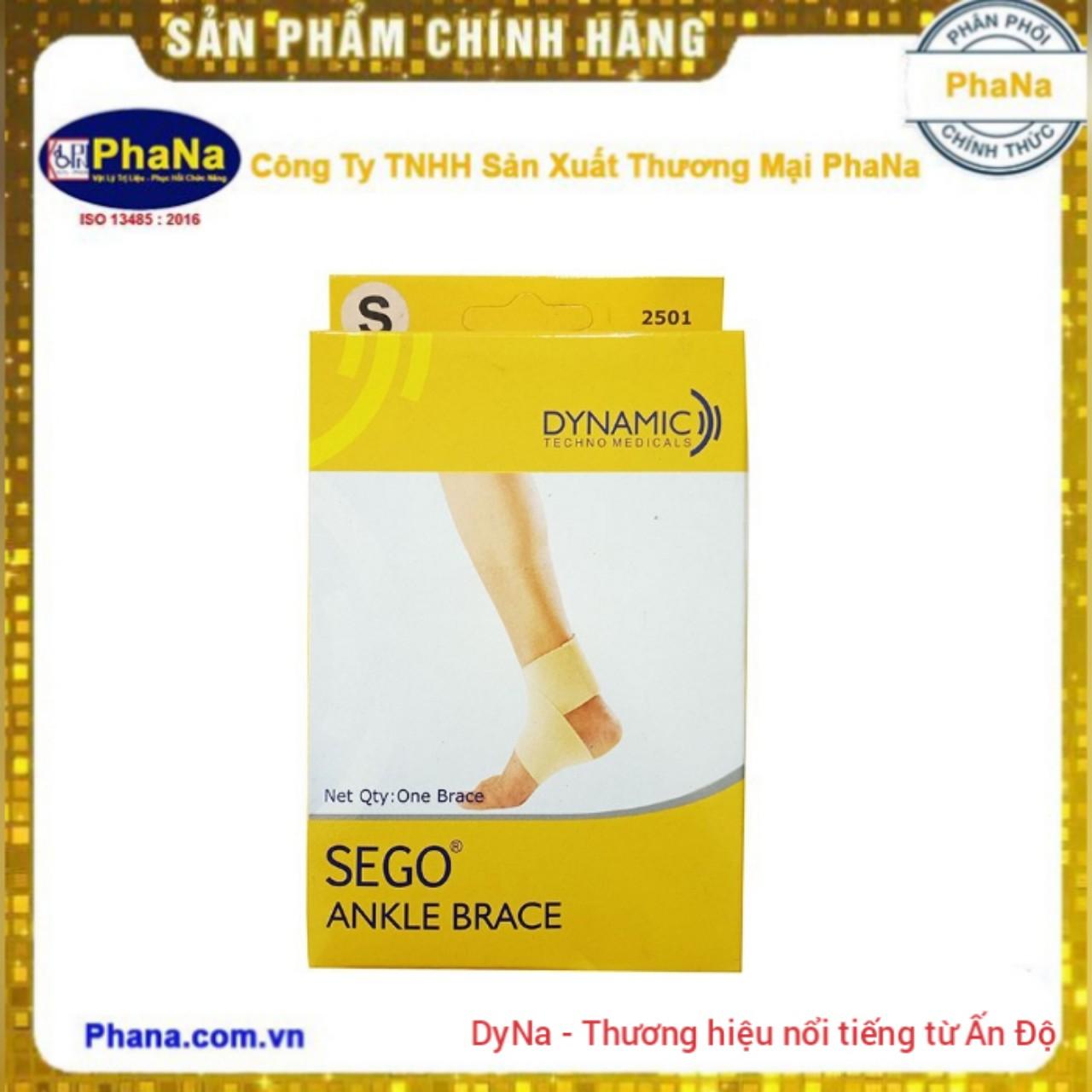 Đai cổ chân quấn hình số 8 Sego (Hàng nhập Ấn Độ) - 2501