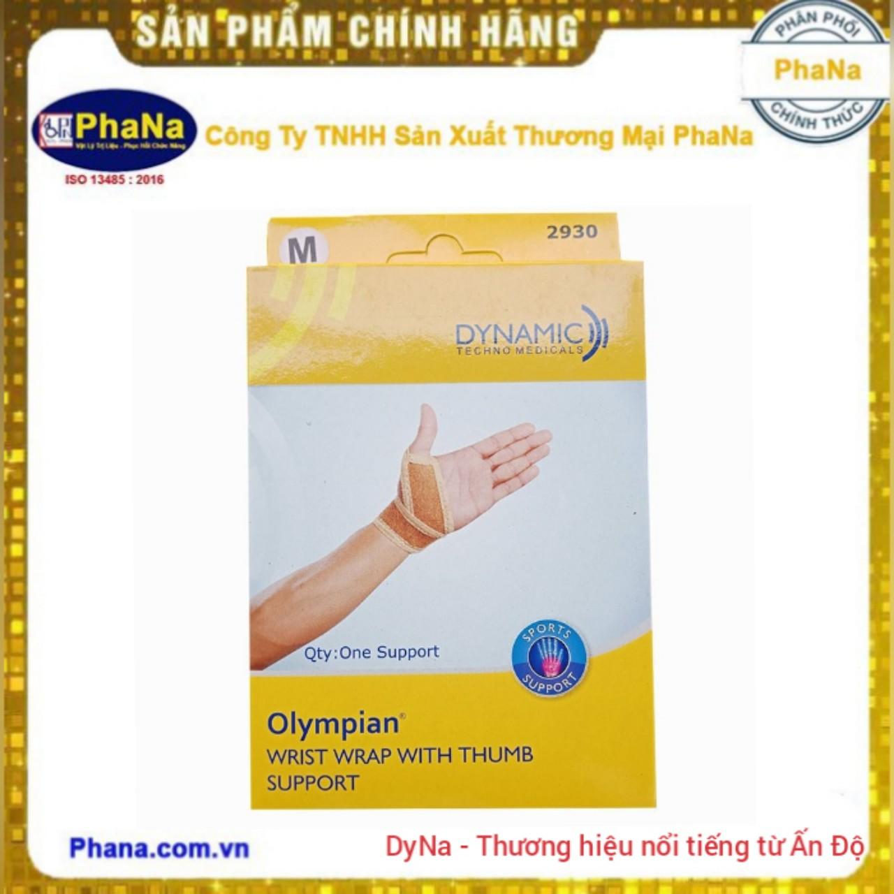 Đai cổ tay và ngón tay cái Olympian-2930