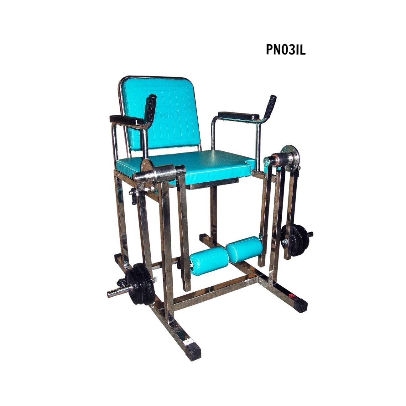PN03IL - Ghế tập cơ đùi (lớn, inox)