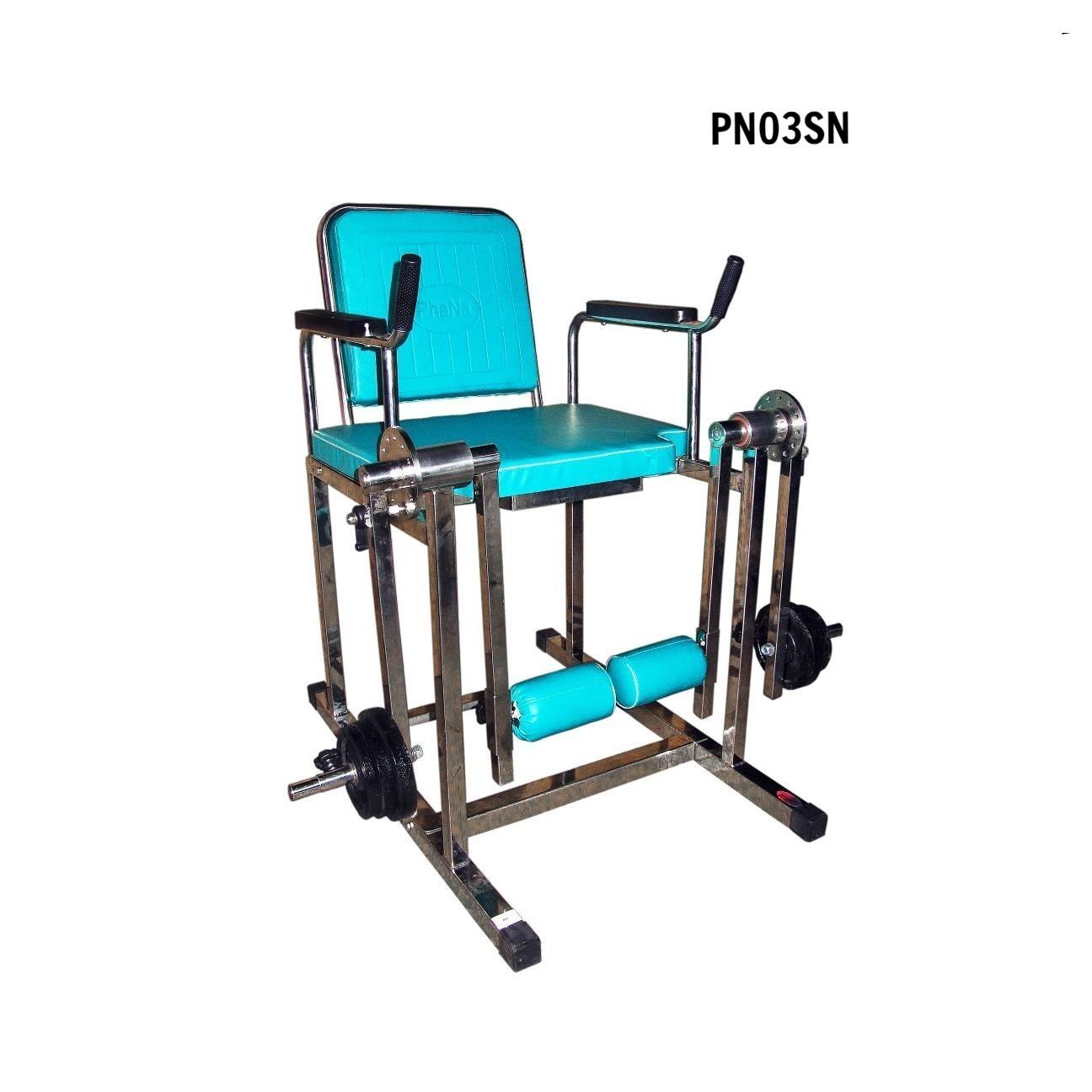 PN03SN - Ghế tập cơ đùi (nhỏ, sắt) - PHCN