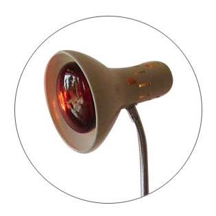 Bộ đèn gù hồng ngoại có đế gang