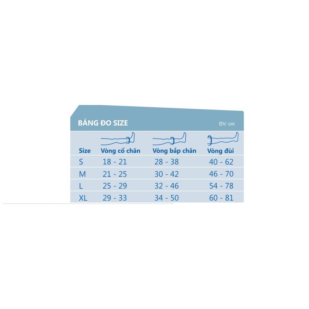MN-VTMGL - Vớ giãn tĩnh mạch JOBST-Mỹ( Vớ đầu gối)