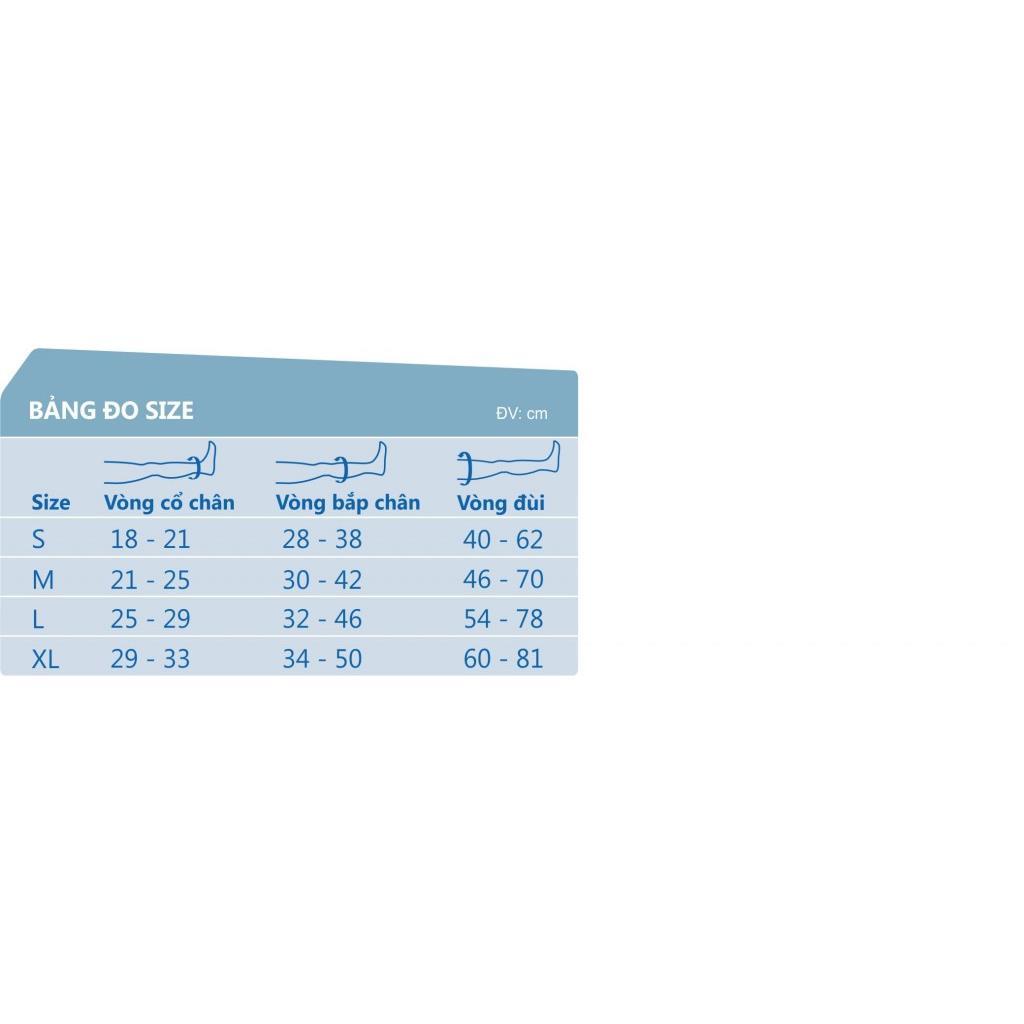 MN-VTMDL - Vớ giãn tĩnh mạch JOBST-Mỹ( Vớ đùi)