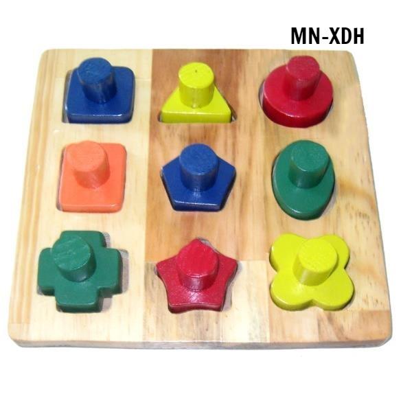 MN-XDH - Xếp gỗ đa hình tập PHCN bàn tay