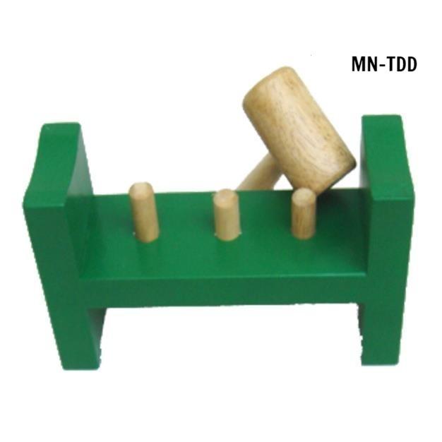 MN-TDD - Tập đóng đinh gỗ tập PHCN bàn tay