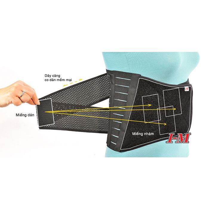MN-EB517 - Đai lưng 4 nẹp (Hàng nhập chính hãng I-M)