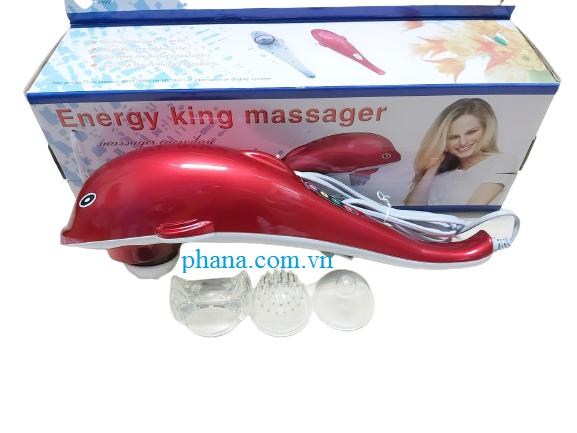 Máy massage cầm tay cá heo điện tử Energy King LC-2002E