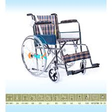 Xe lăn thường vải caro TBYT ONE-X 809I
