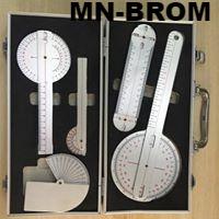 Bộ thước đo tầm vận động khớp (ROM) MN-BROM