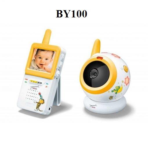 Theo dõi trẻ em có camera và màn hình Beurer BY100