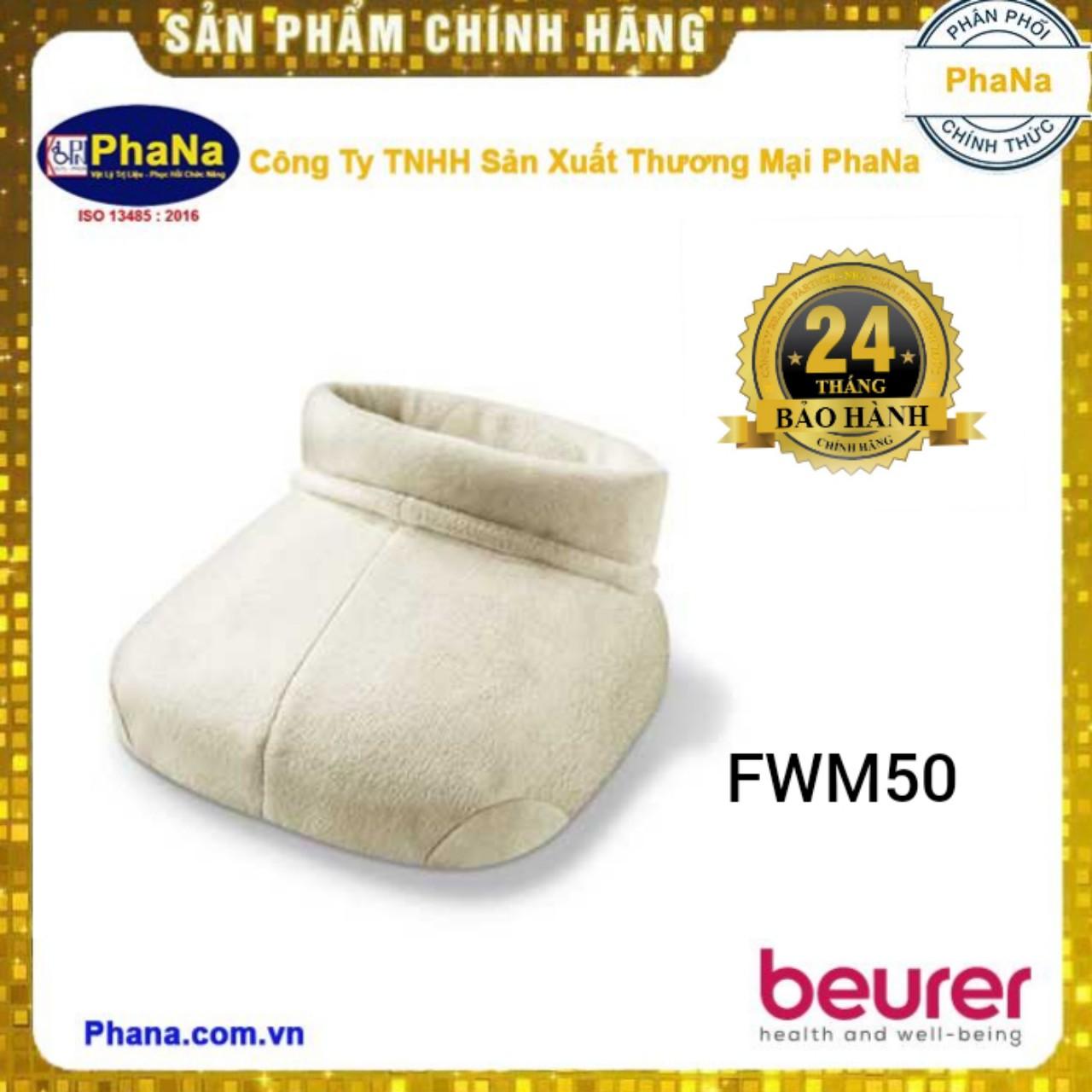 Ủng sưởi ấm và massage chân Shiatsu Beurer FWM50
