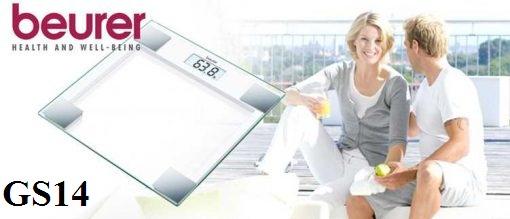 Cân sức khỏe mặt kính Beurer GS14