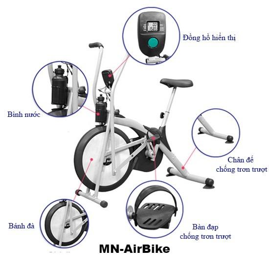 Xe đạp tập thể dục Air Bike