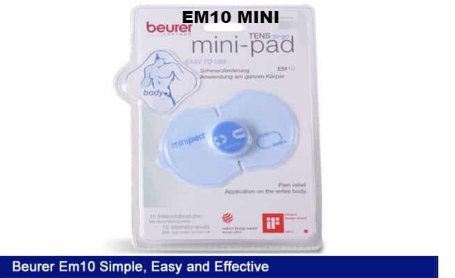 Máy massage xung điện cơ thể mini Beurer EM10