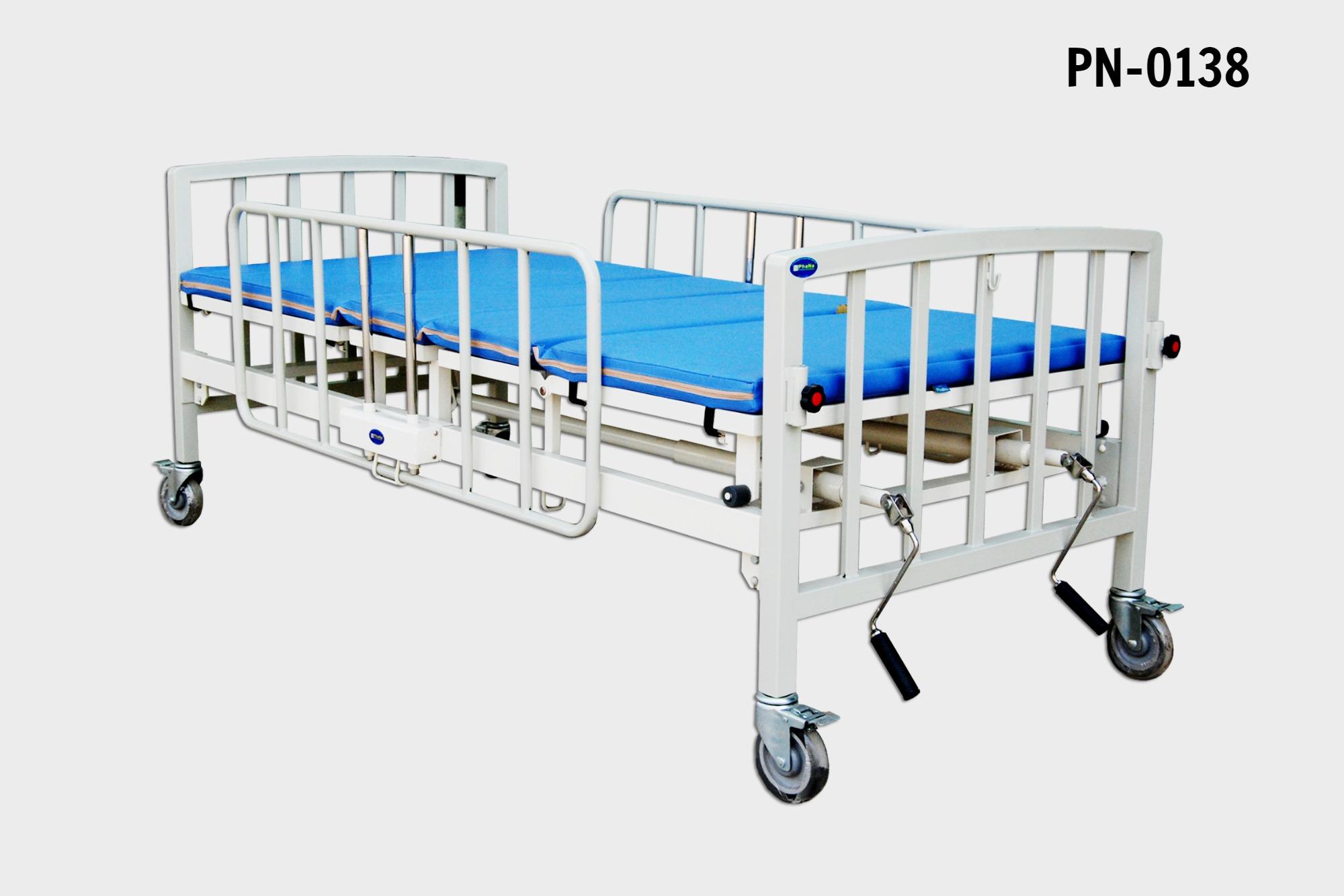 PN-0138- Giường y tế tay quay 2 chức năng