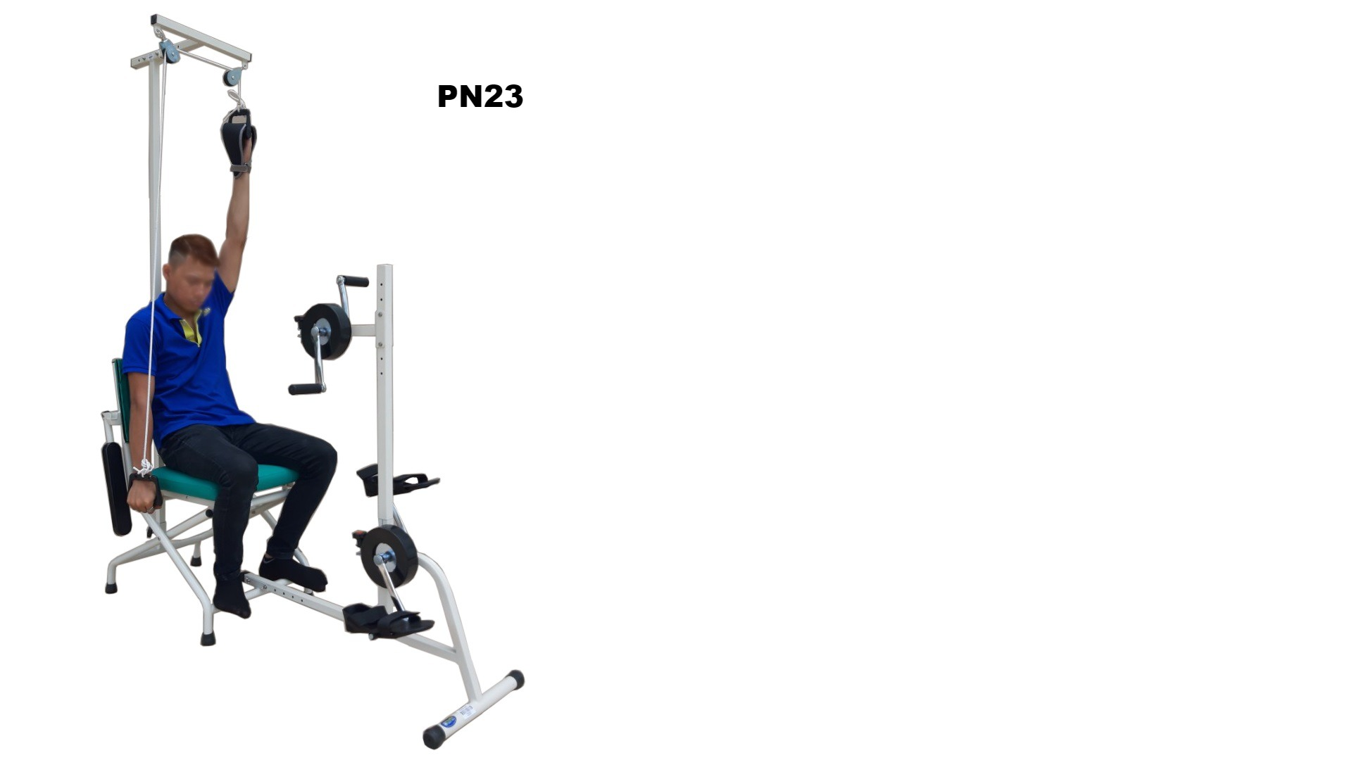 PN23 - Ghế tập mạnh tay chân (3 trong 1)
