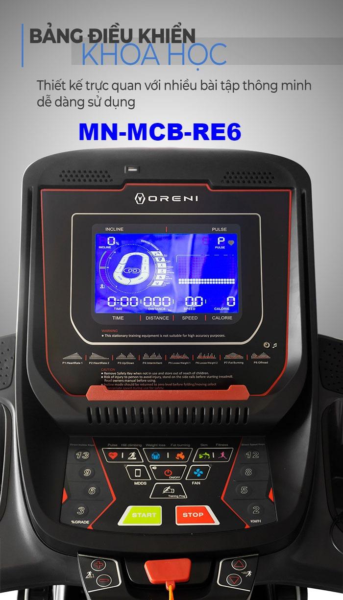 Máy chạy bộ điện đa năng Oreni RE-6