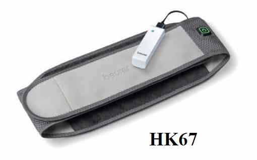 Đai nhiệt sưởi ấm di động Beurer HK67
