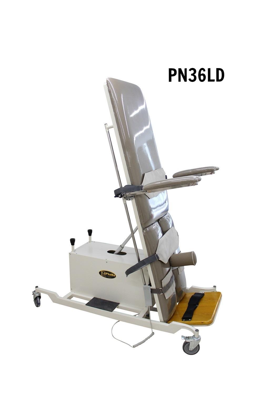 PN36LD - Giường xiên quay tập đứng bệnh nhân lớn (điện)