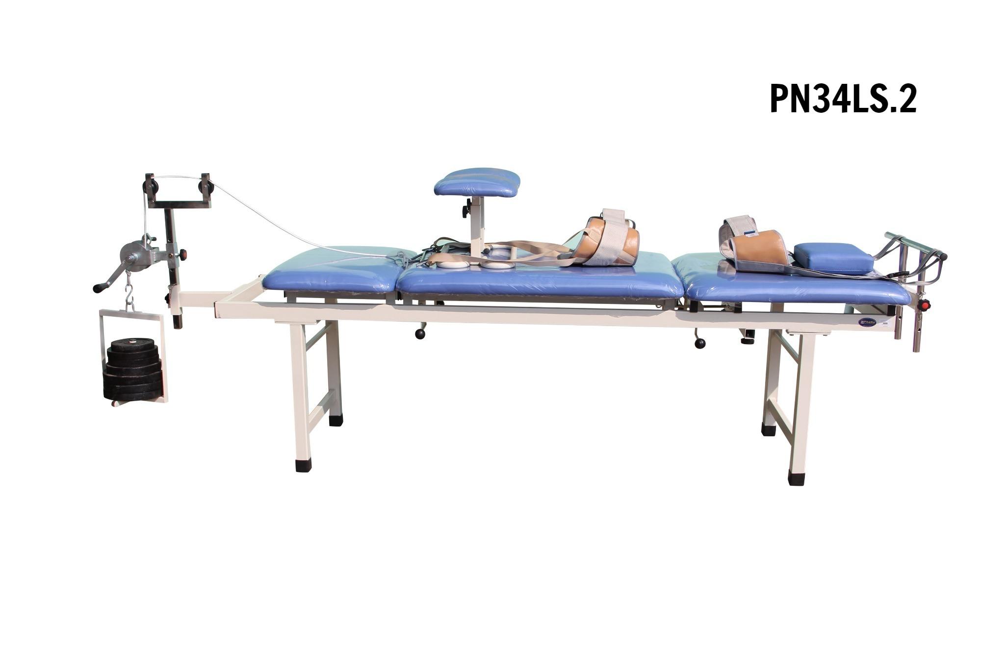 PN34LS.2 - Giường kéo cột sống lưng M2 (Sắt)