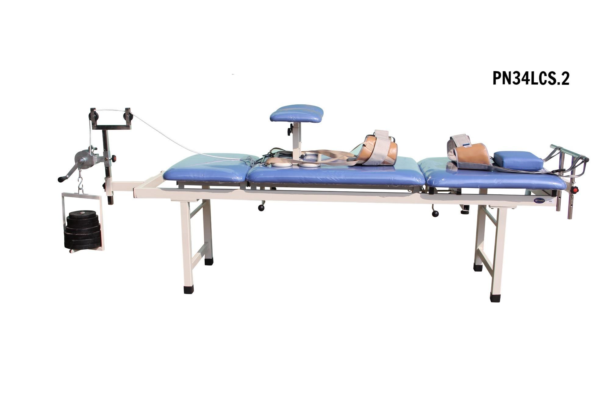 PN34LCS.2 - Giường kéo cột sống lưng + cổ M2