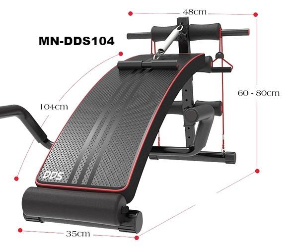 Ghế tập bụng đa năng DDS-104
