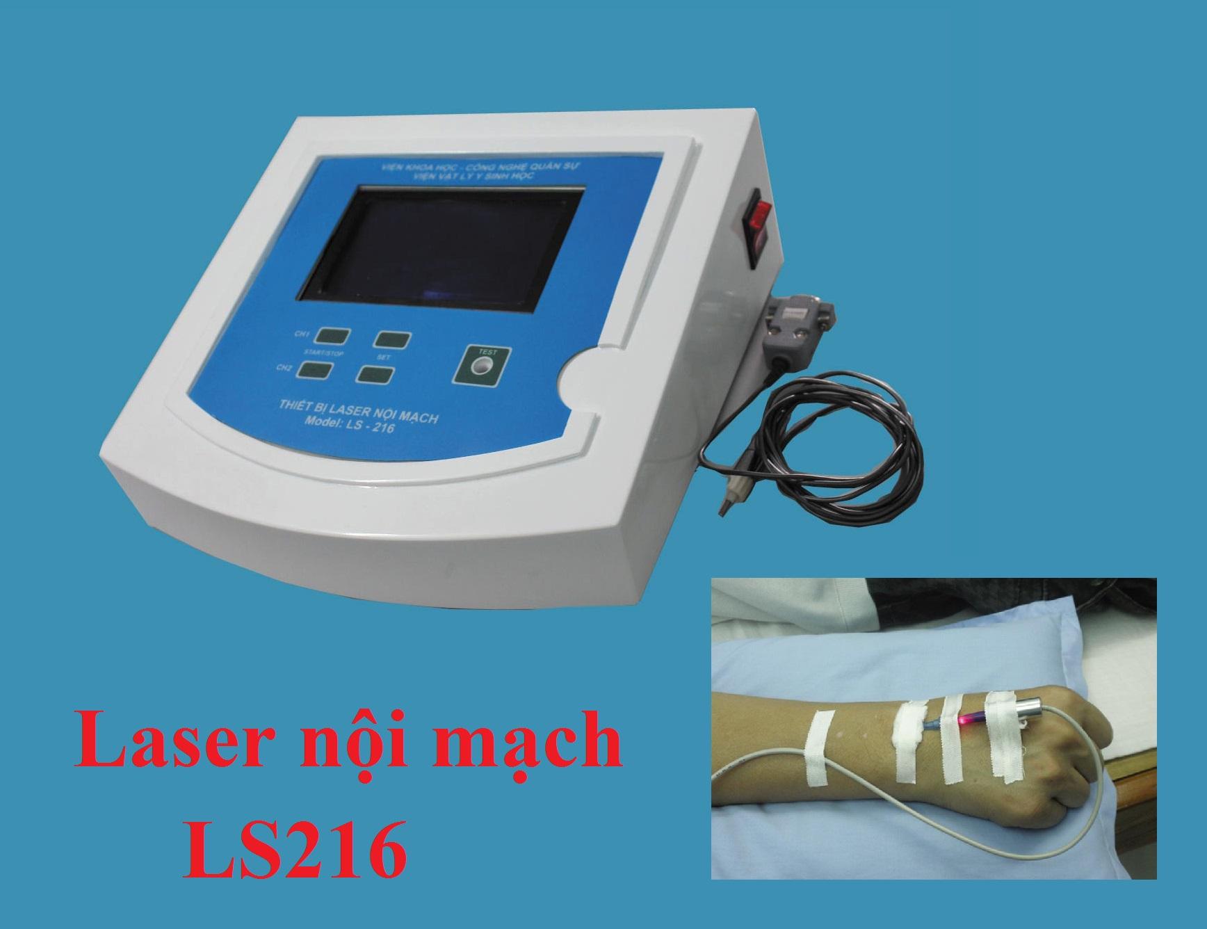 Laser nội mạch LS 216