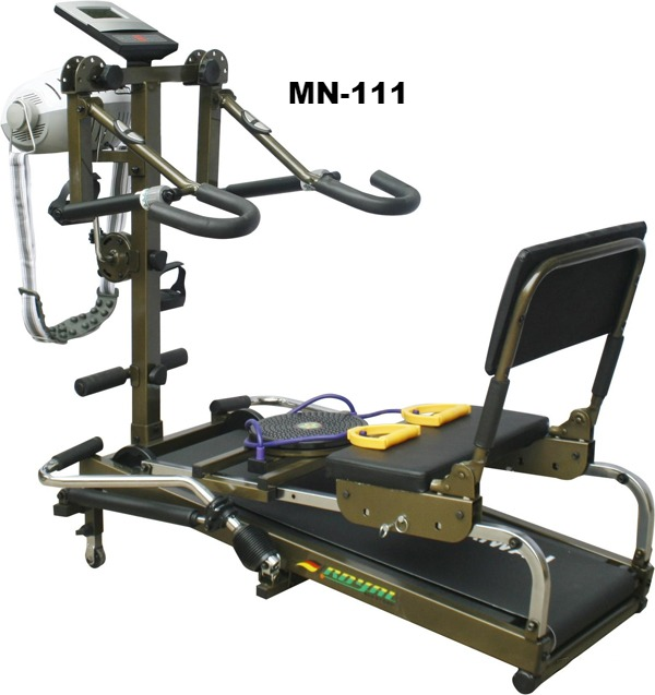 Máy chạy bộ cơ 10 chức năng Royal 111