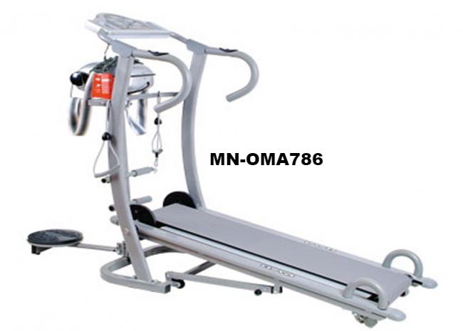 Máy chạy bộ cơ 6 chức năng OMA-786