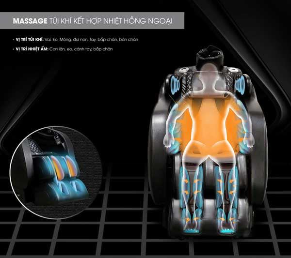 Ghế massage Saporoo SP-909FX