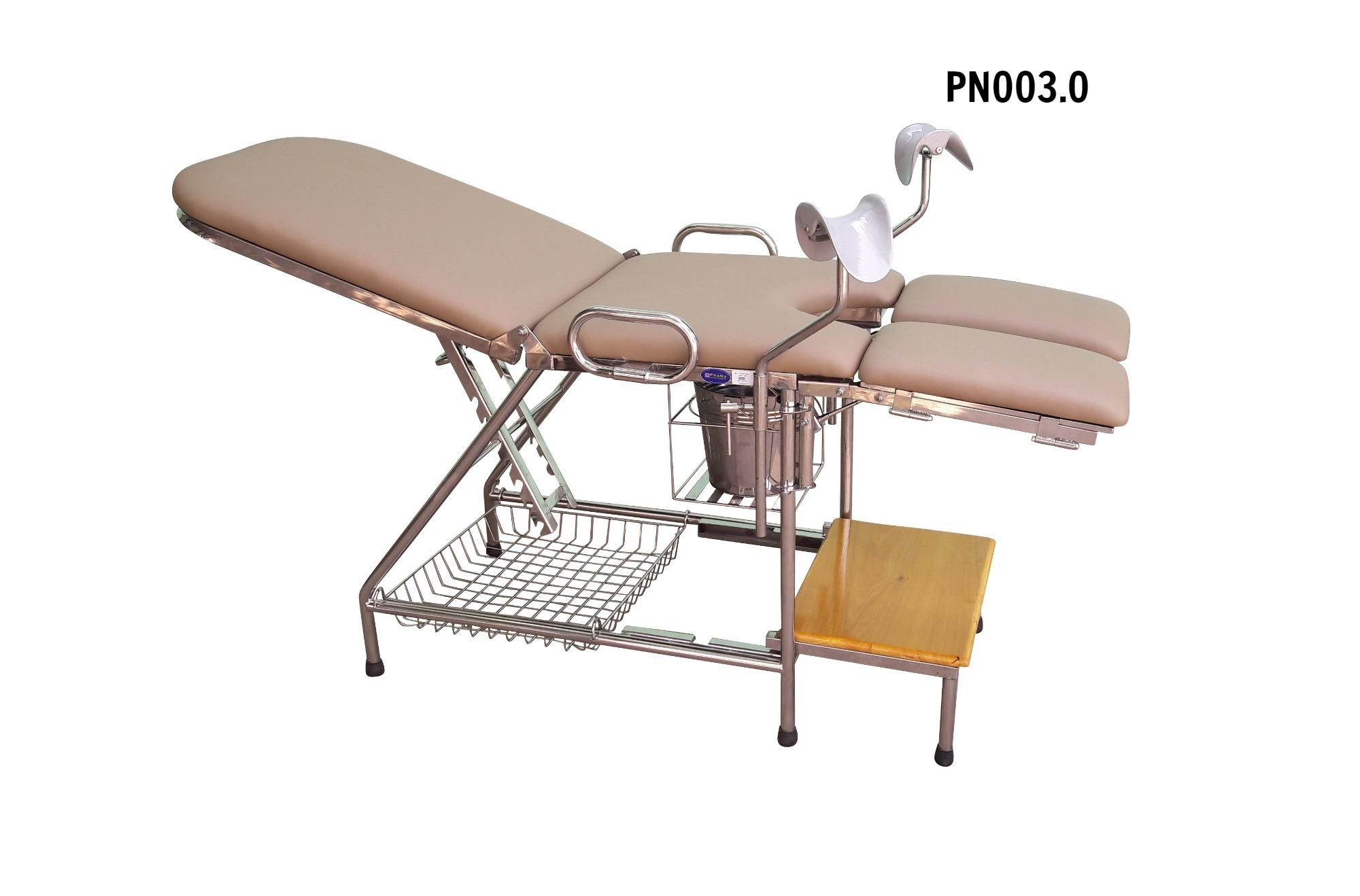 Bàn khám sản phụ khoa  - PN003.0