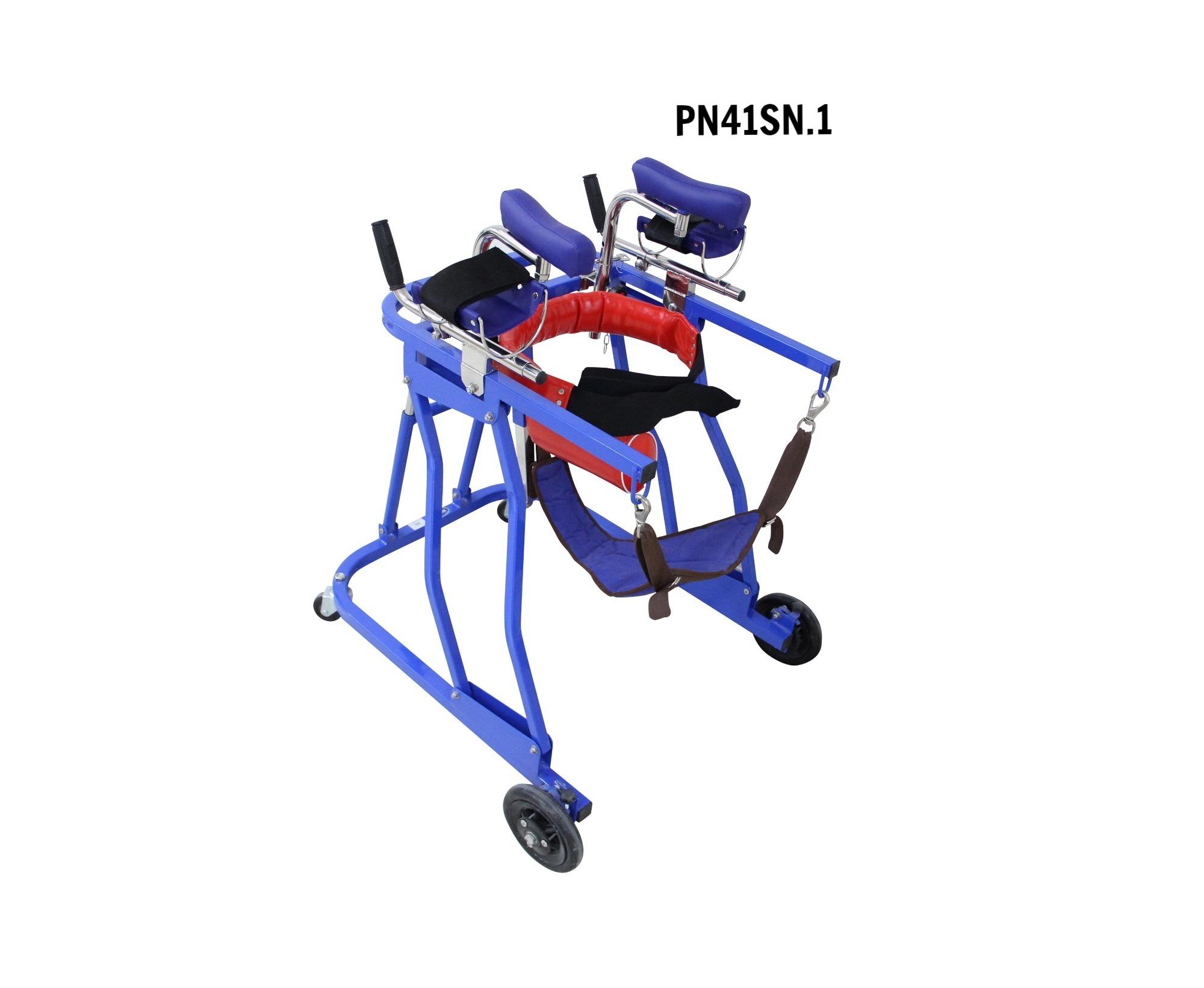 PN41SN.1 Khung tập đi tựa khuỷu -nách nhỏ M1 (sắt ,gù + đai )