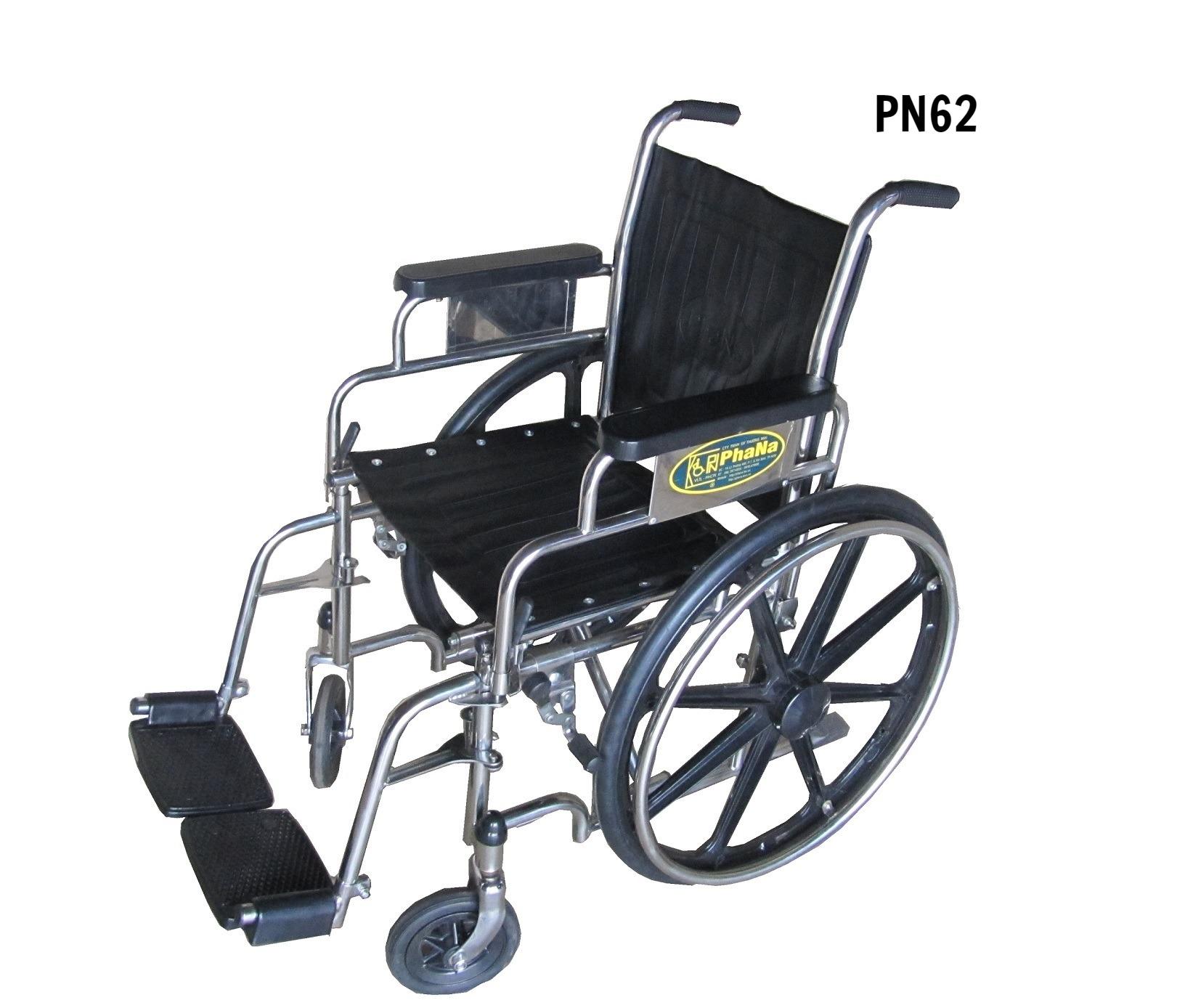 PN62 - Xe lăn inox tay - chân rời