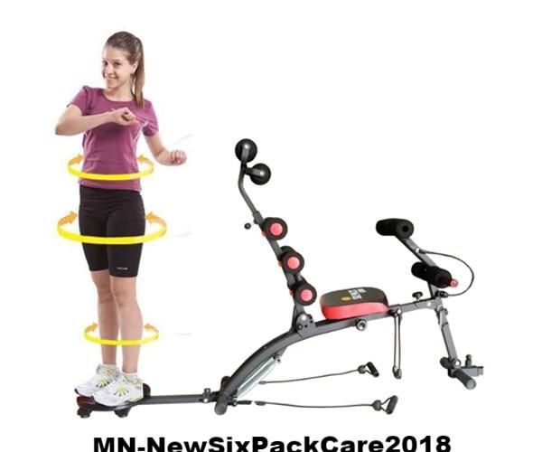 Máy tập cơ bụng New Six Pack Care 2018