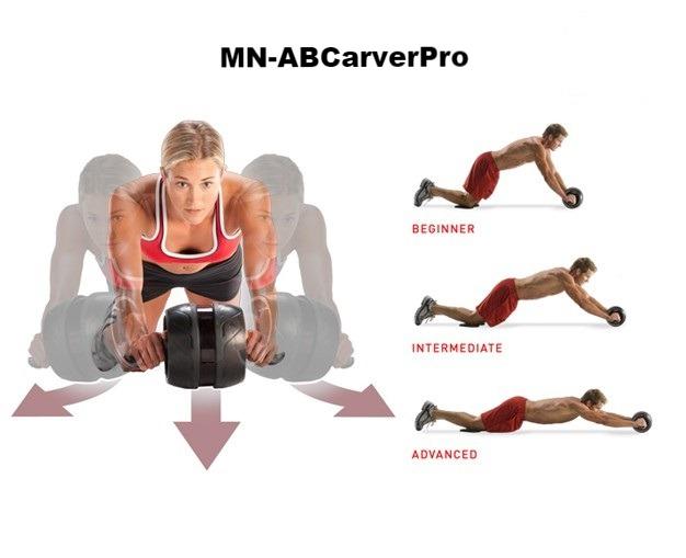 Con lăn tập bụng AB Carver Pro