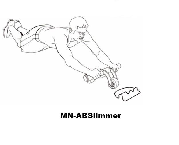 Bánh xe tập cơ bụng AB Slimmer