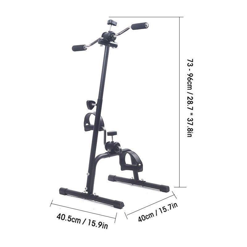XE ĐẠP TẬP DUAL EXERCISE BIKE, MODEL: MBB-001T BL