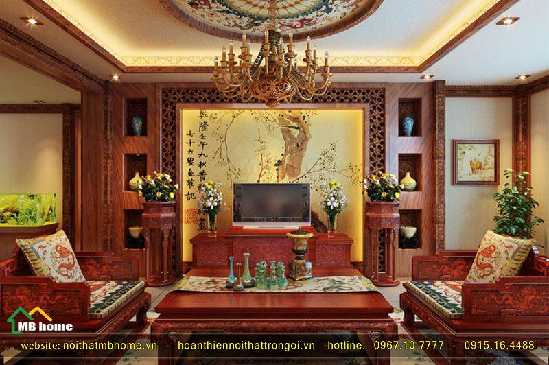 thiết kế nội thất trung quốc