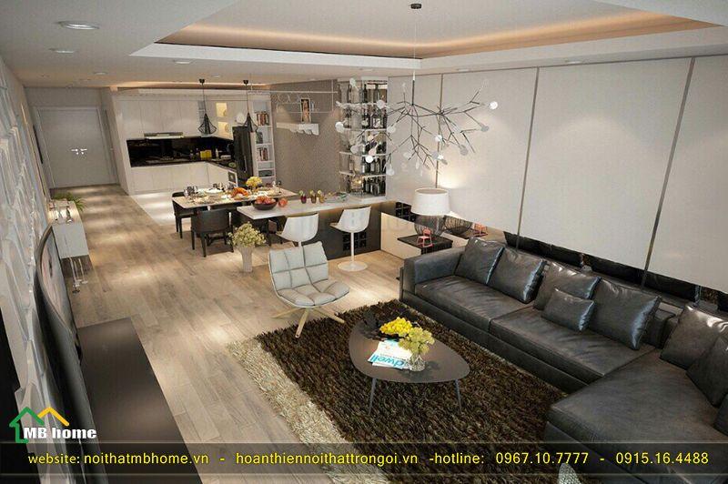 nội thất chung cư tiện nghi