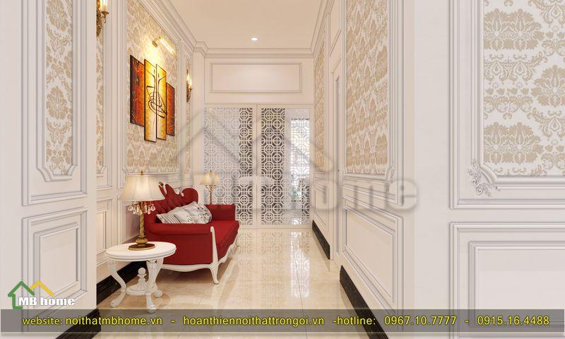 kiến trúc nội thất spa