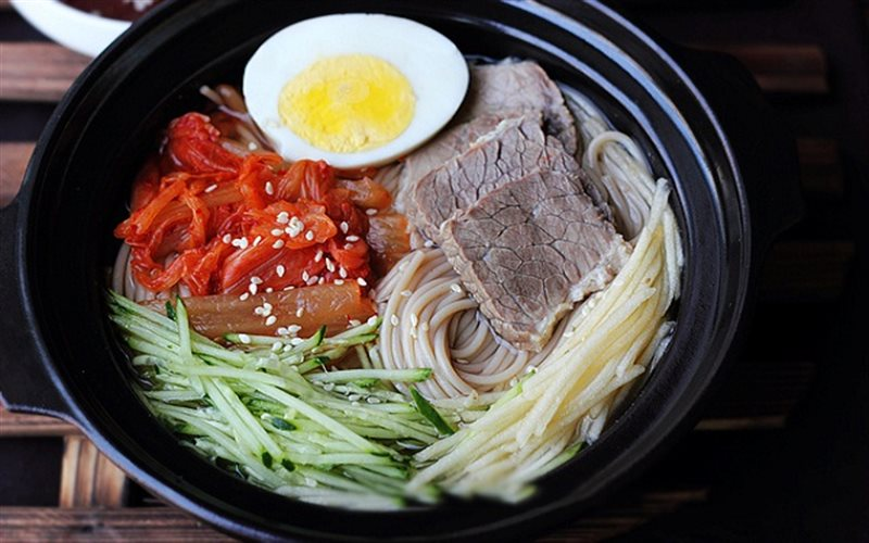 Image result for Naengmyeon – Mỳ lạnh
