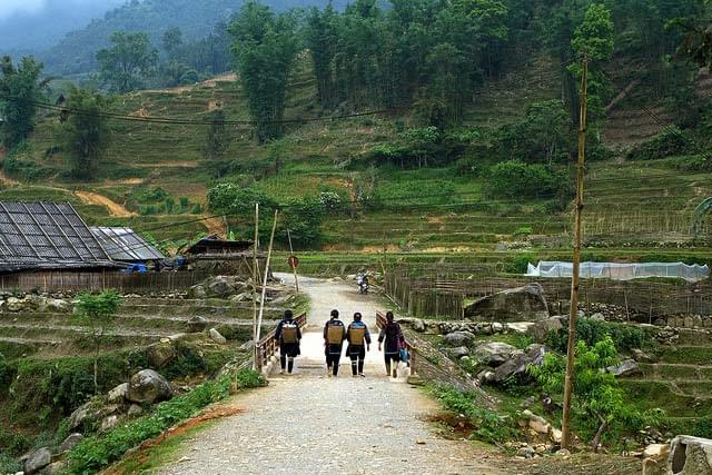 SAPA MEDIUM TREKKING TRIP 3 days - 2 nights: 2 Nights at Homestay